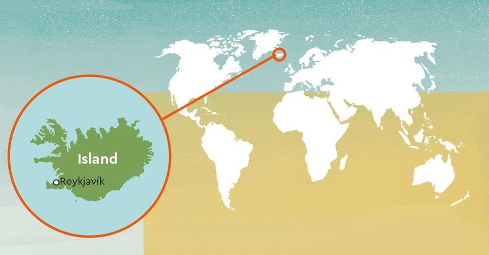 Verbreitung der Islandpferde
