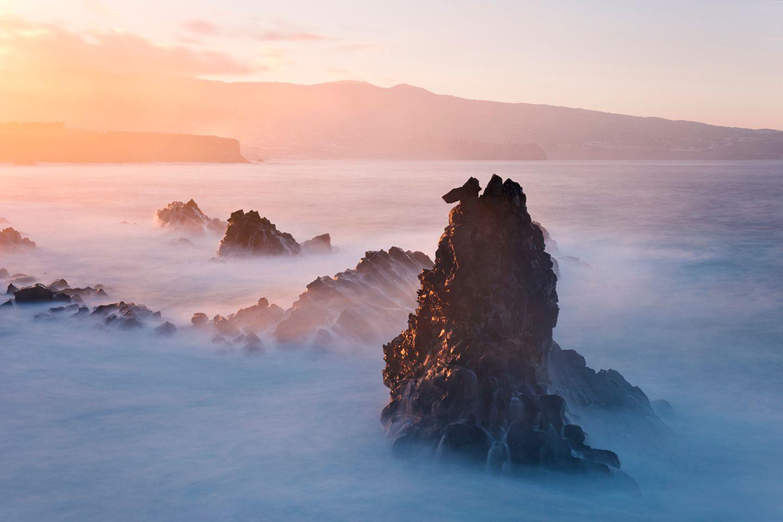 Ponta das Calhetas bei Fenais da Luz, Sao Miguel, Azoren, Portugal