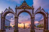 Portas da Cidade, Sao Miguel, Azoren, Portugal