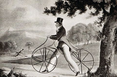 Laufmaschine von Karl von Drais