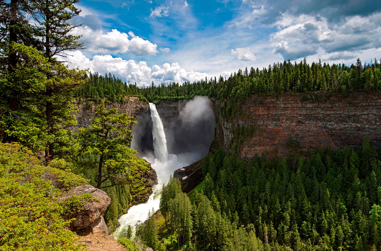 Helcken Falls, Wells Gray Provincial Park, Kanada