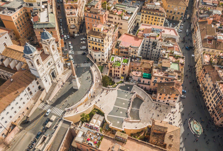 Spanische Treppe, Rom