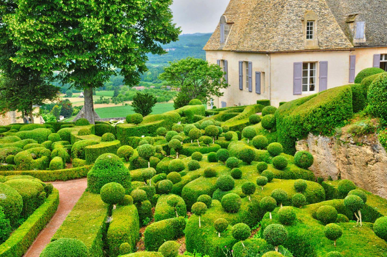 Garten Marqueyssac, Frankreich