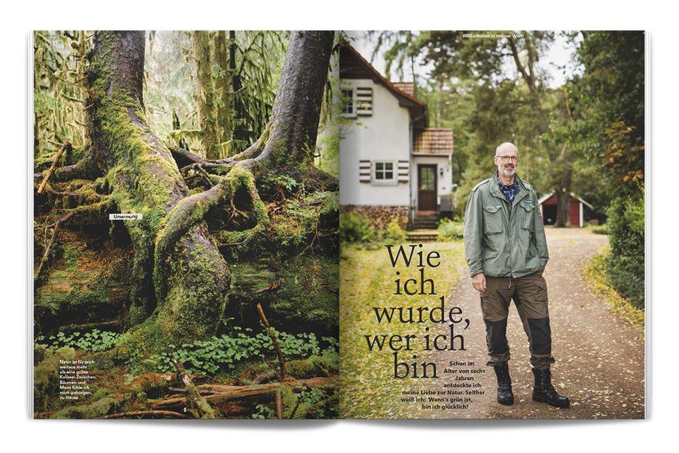 Jetzt neu!: Peter Wohlleben nimmt Sie dorthin mit, wo er sich am wohlsten fühlt: in sein Revier in der Eifel