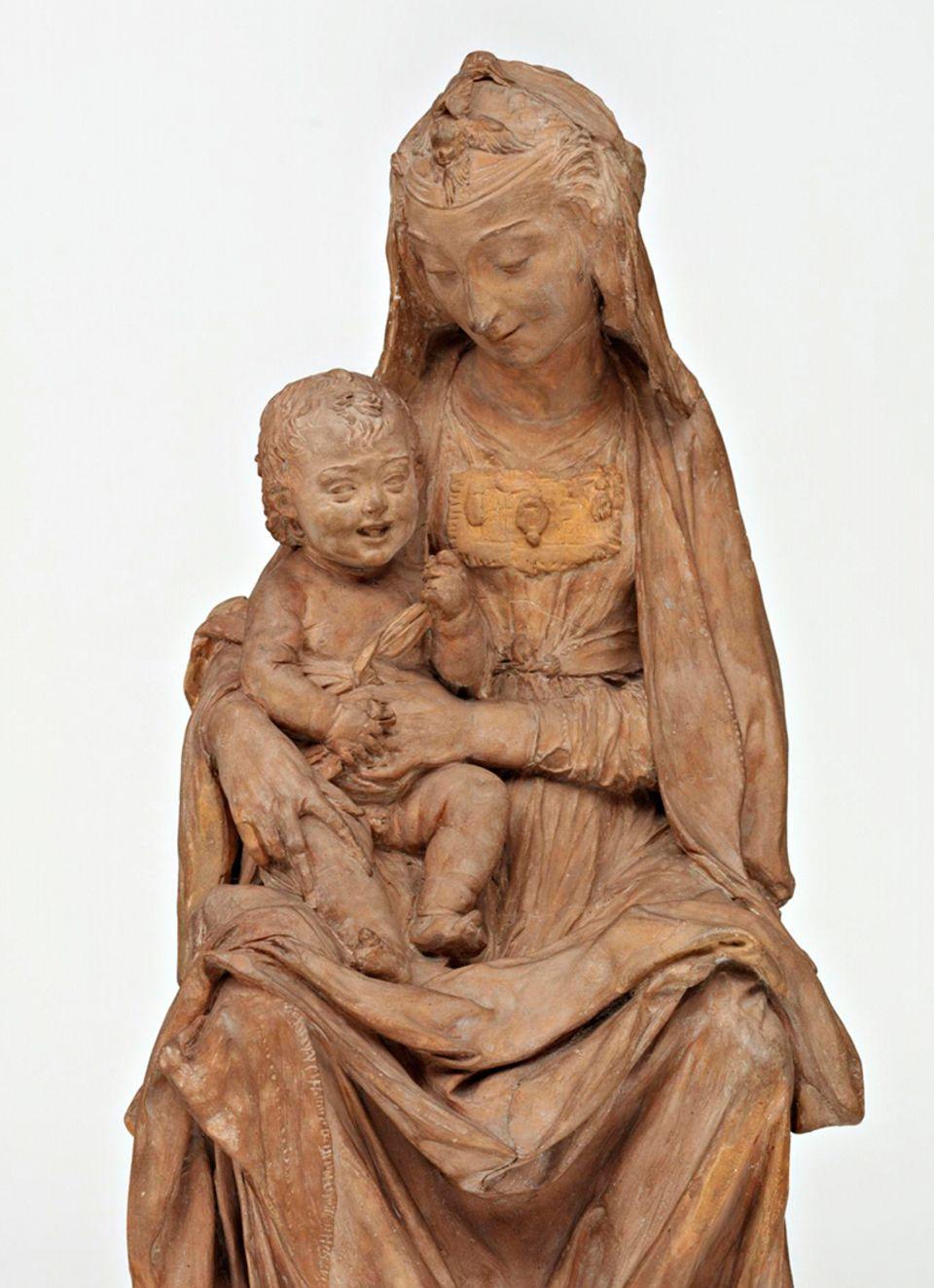 Jungfrau mit dem lachenden Kind