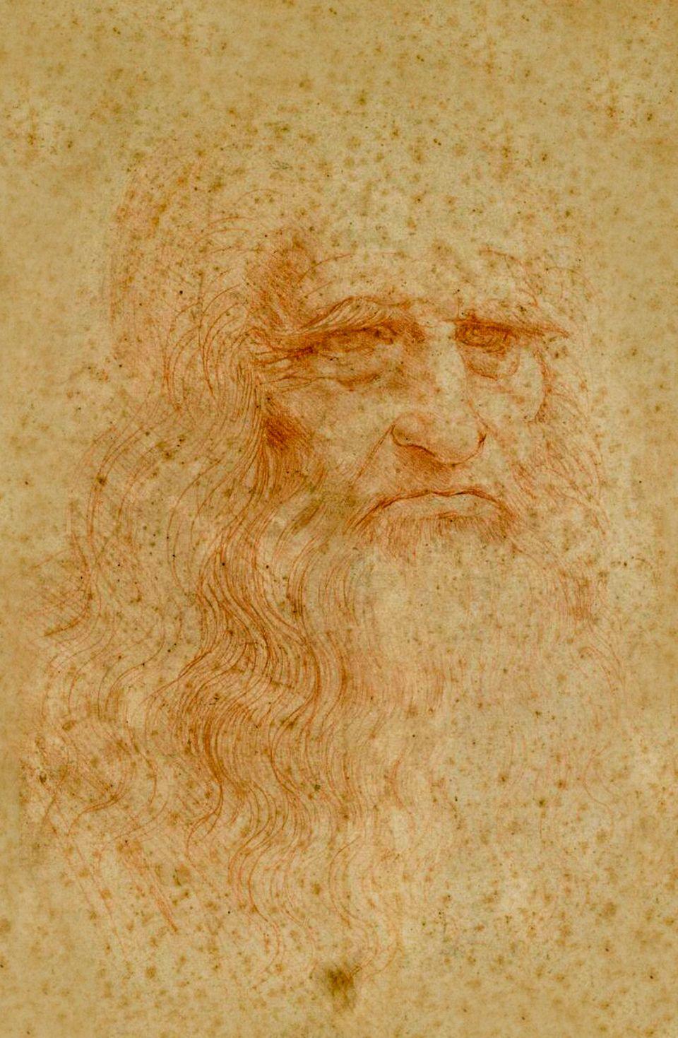 Neue Forschungen haben erwiesen, dass das vermeintliche »Selbstporträt« nicht Leonardo zeigt.