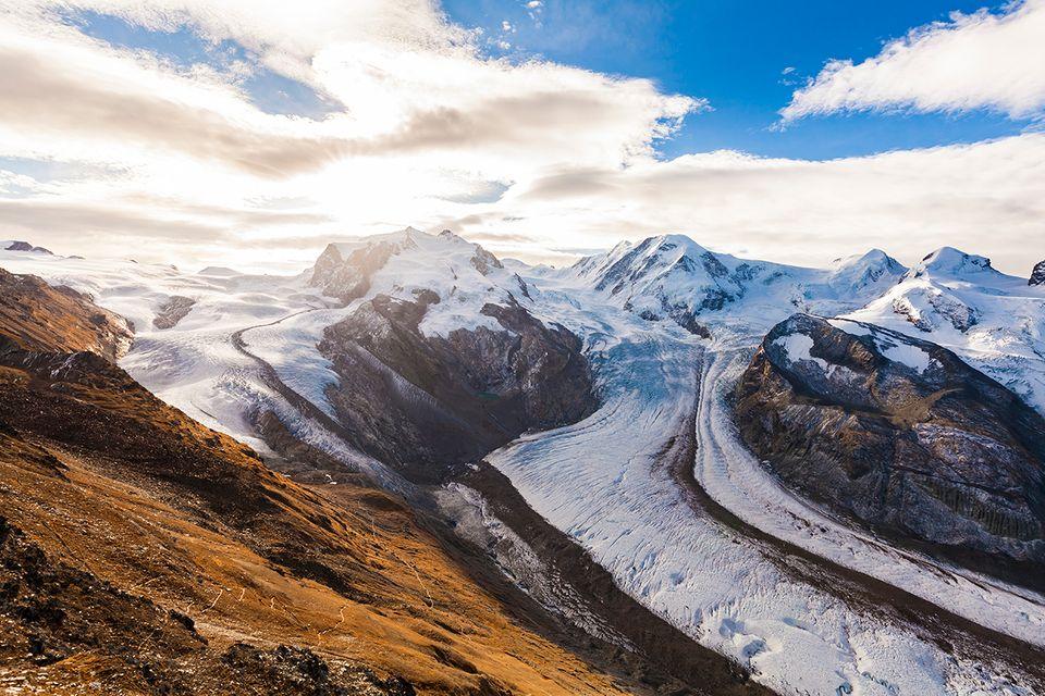 Monte Rosa, Schweiz