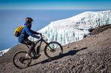 Mit dem e-Bike auf fast 6000 Meter am Kilimandscharo in Afrika