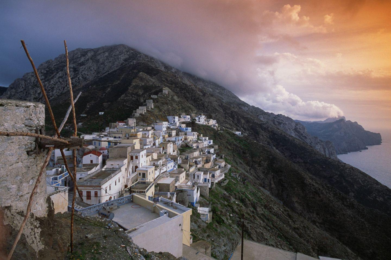 Dorf Olympos, Karpathos
