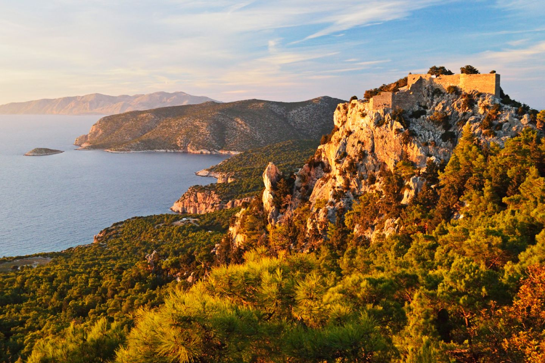 Burg von Monolithos, Rhodos