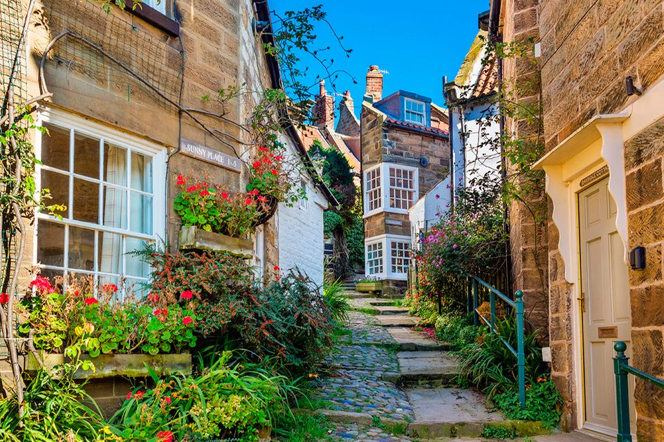Robin Hood's Bay, North Yorkshire, England, UK