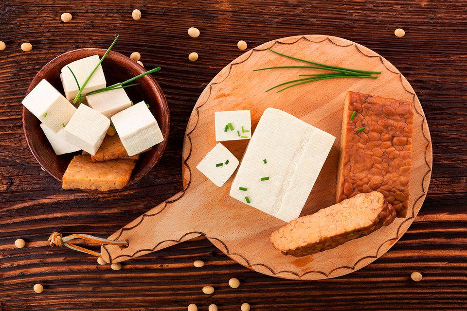 Tofu, Tempeh und Co.