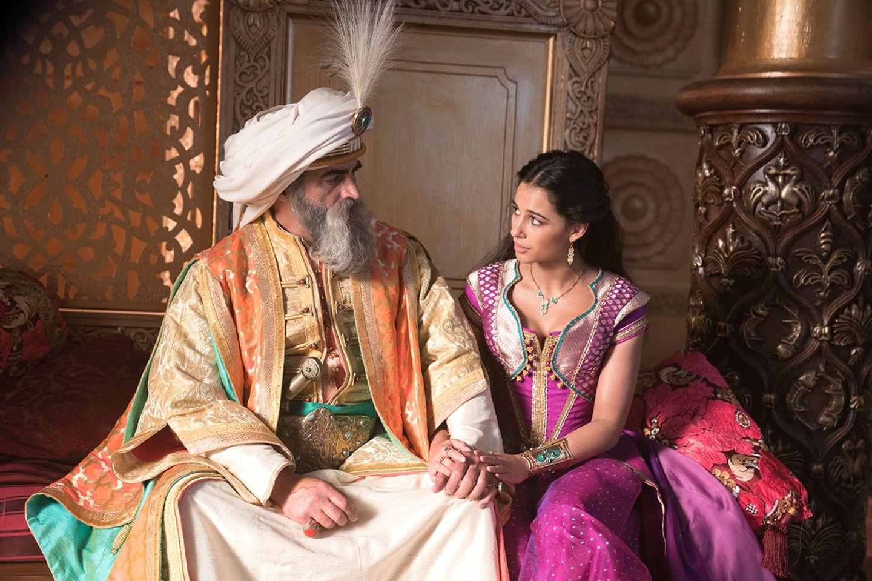 Jasmin und ihr Vater, der Maharadscha