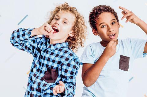 Jungs singen