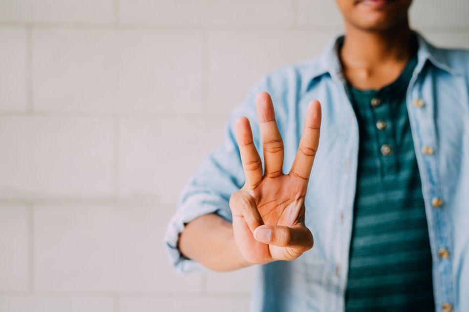 Drei Finger