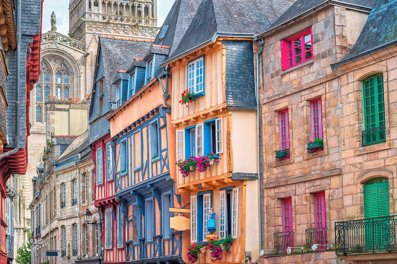 Quimper in Frankreich