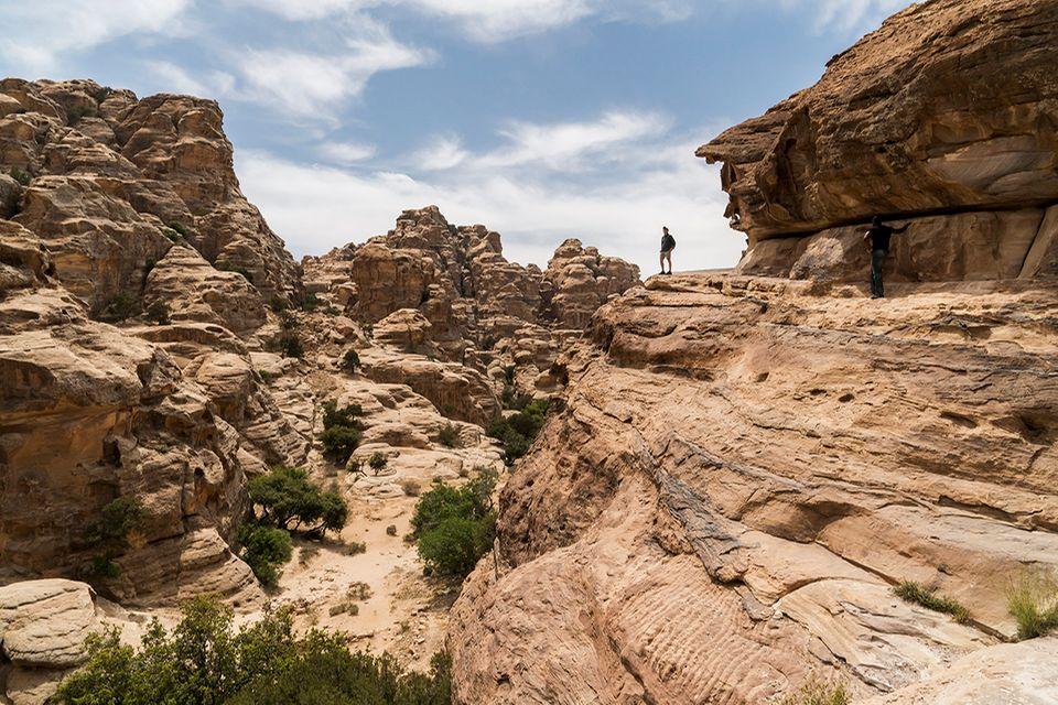 Schlucht bei Little Petra, Jordanien