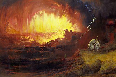Sodom und Gomorra, Gemälde