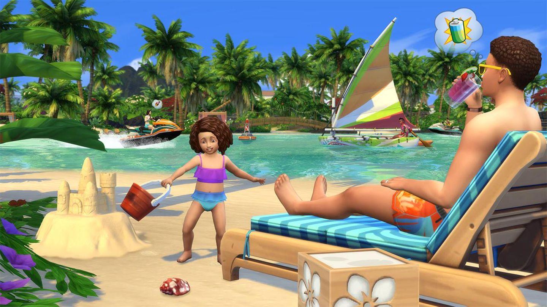 Sims 4 - Inselleben