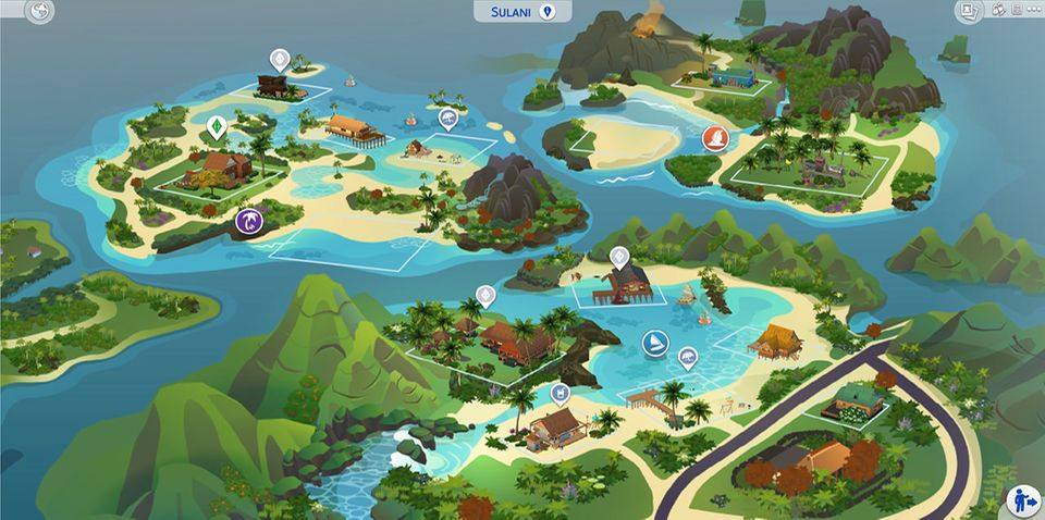 """Sulani - Spielewelt in """"Die Sims 4 - Inselleben"""""""