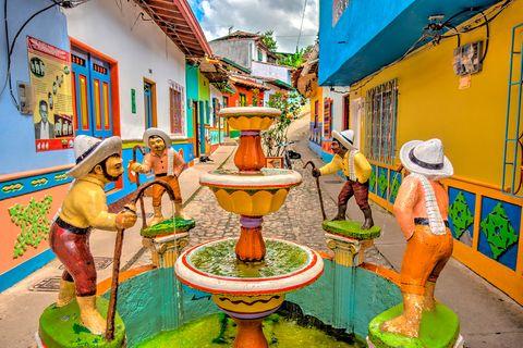 Guatape, Kolumbien