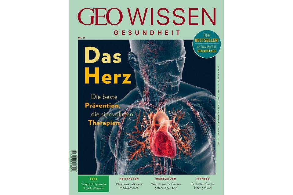 GEO Wissen Gesundheit Nr. 11: GEO Wissen Gesundheit Nr. 11 - Das Herz