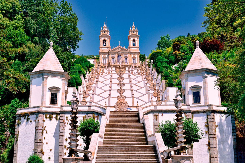 Bom Jesus do Monte in Braga, Portugal