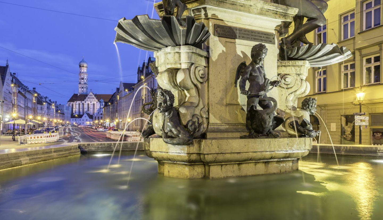 Herkulesbrunnen; Augsburg