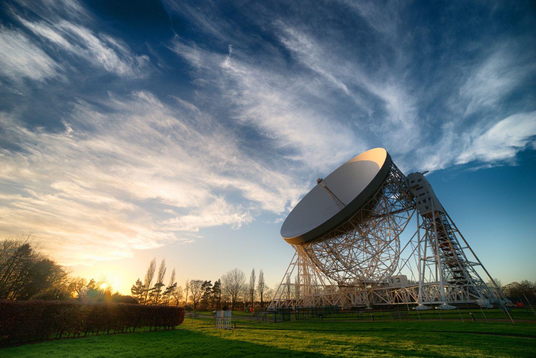 Großbritannien: Jodrell-Bank-Observatorium