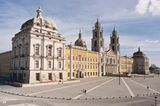 Portugal: Königlicher Gebäudekomplex von Mafra