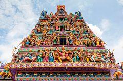 Sri Veeramakaliamman Tempel in Little India, Singapur