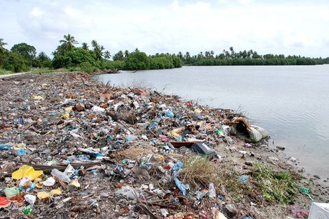 Müll auf den Malediven
