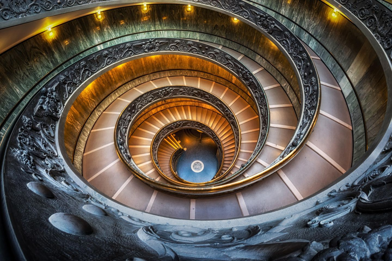 Spiraltreppe, Rom