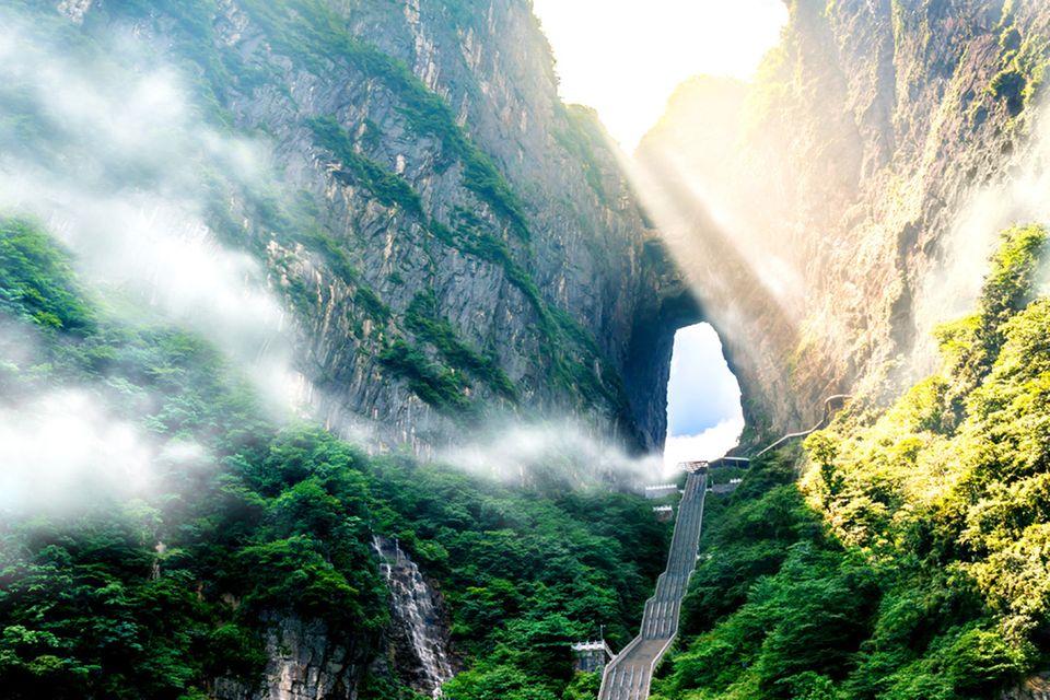 Tianmen Mountain