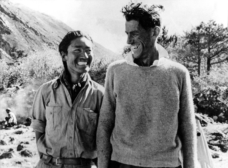 Tenzing Norgay und Edmund Hillary