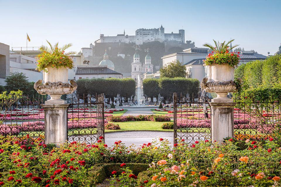 Mirabellgarten, Salzburg, Österreich