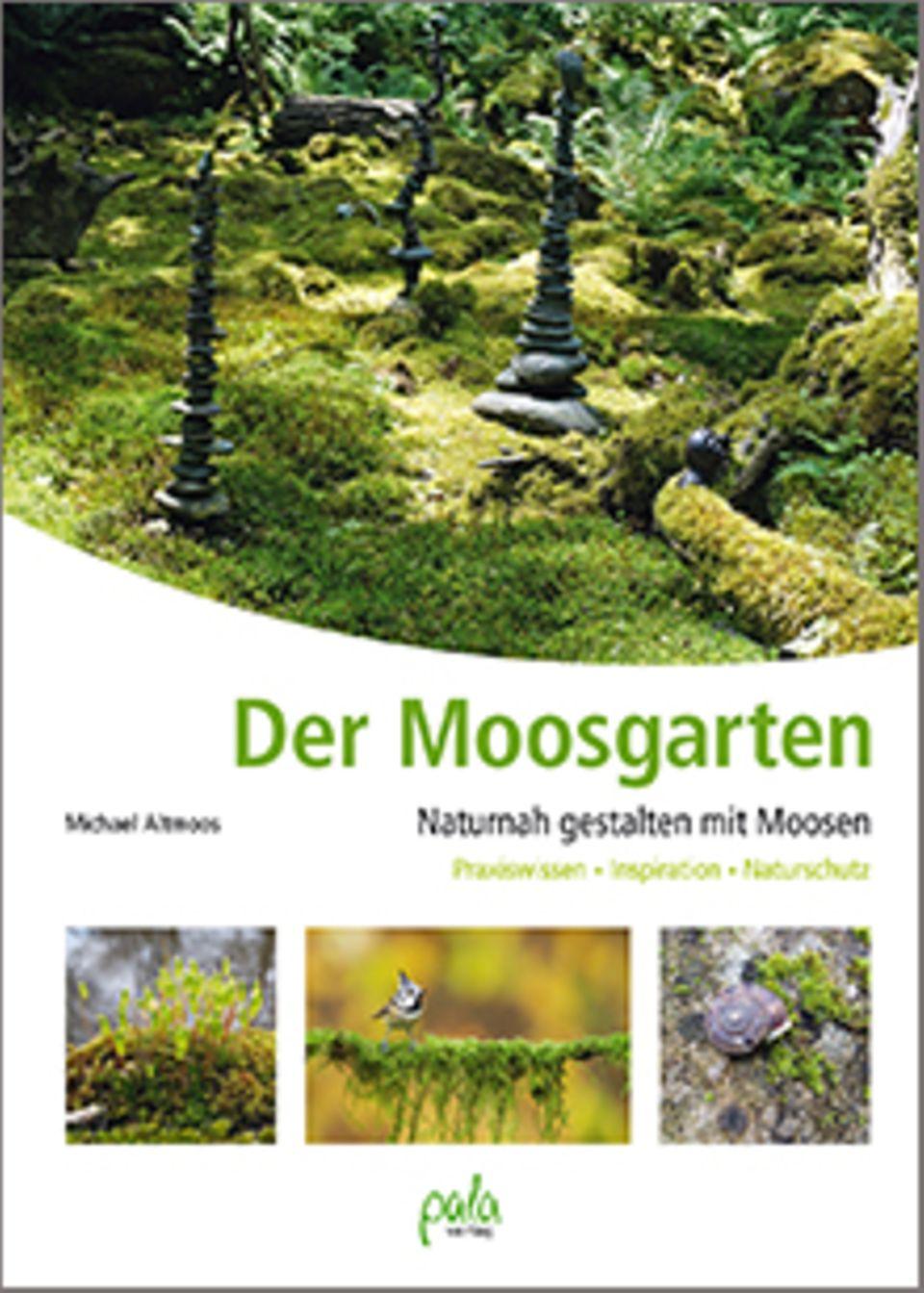 "Buchcover ""Der Moosgarten"""