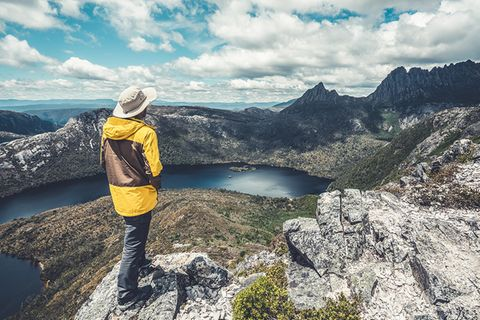 Cradle Mountain National Park in Tasmanien, Australien
