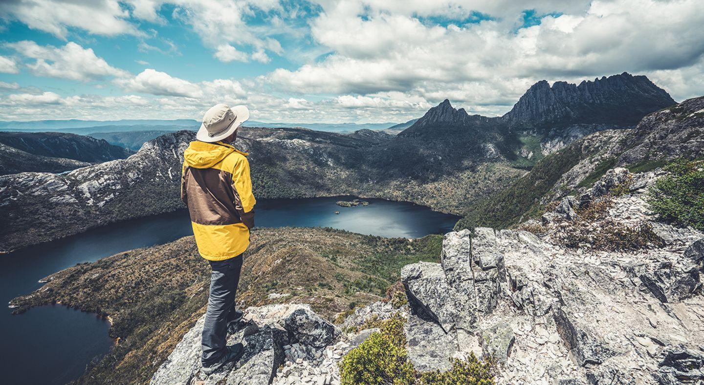 Cradle Mountain National Park in Tasmanien, Australien