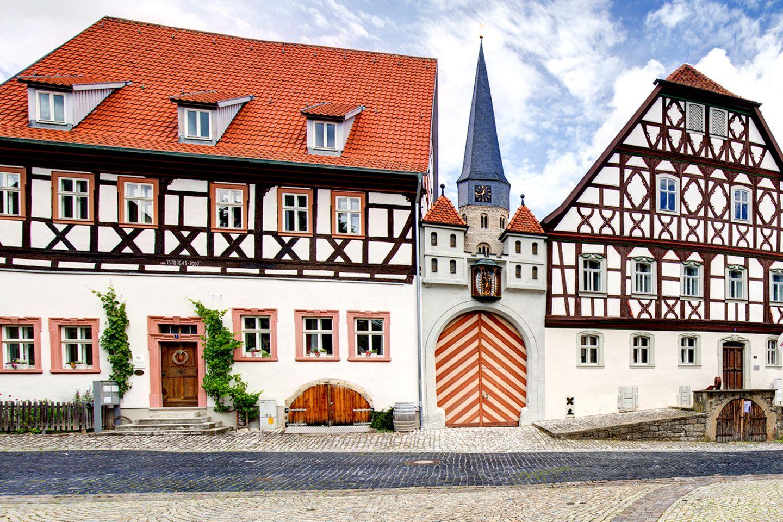 Münnerstadt, Unterfranken, Franken, Bayern, Deutschland