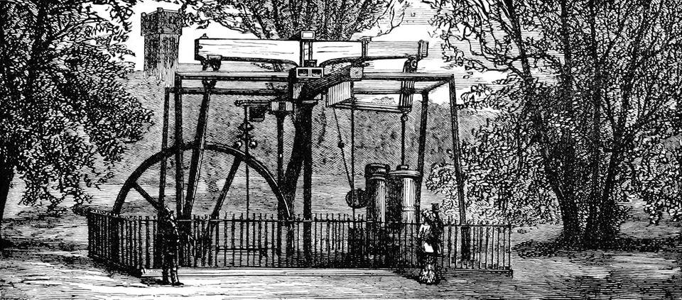 Dampfmaschine von James Watt