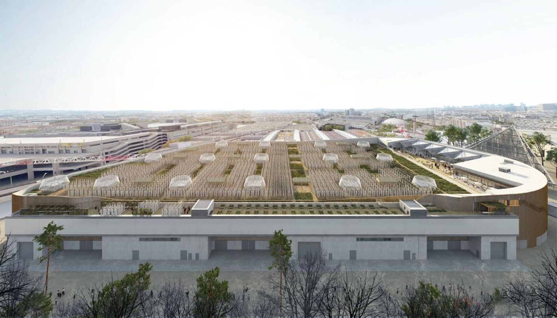 Rooftop-Farm: Die 14.000 Quadratmeter große Gemüsefarm soll auf dem Dach eines Messegebäudes entstehen