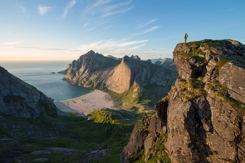Hermannsdalstinden, Norwegen