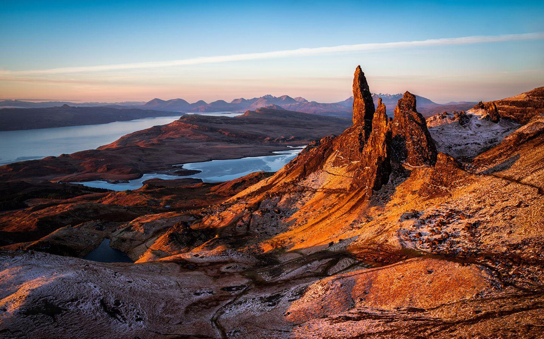 Sky Trail, Schottland