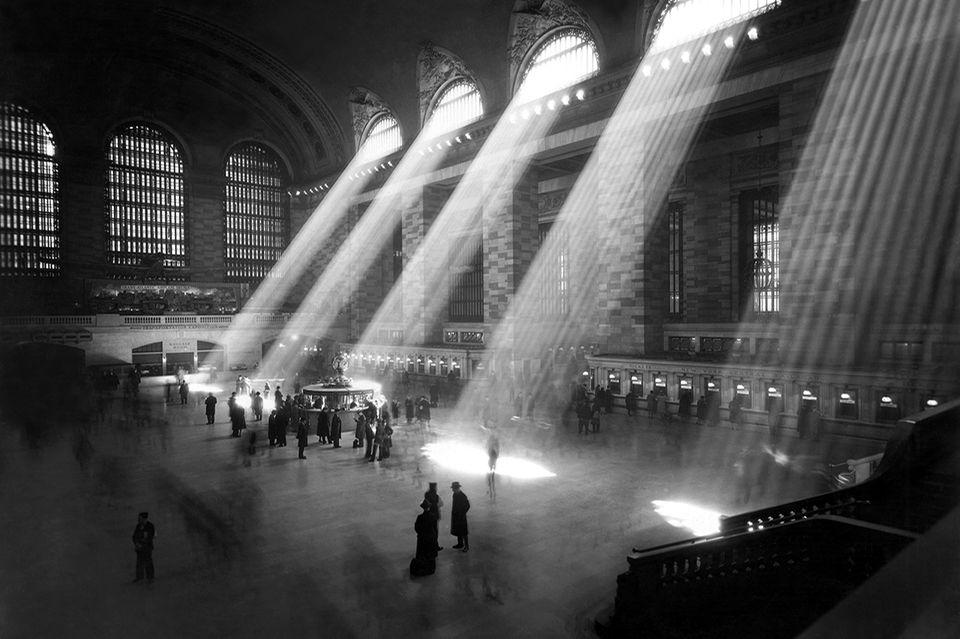 Foto: imago/UIG, New York Central Station 1940