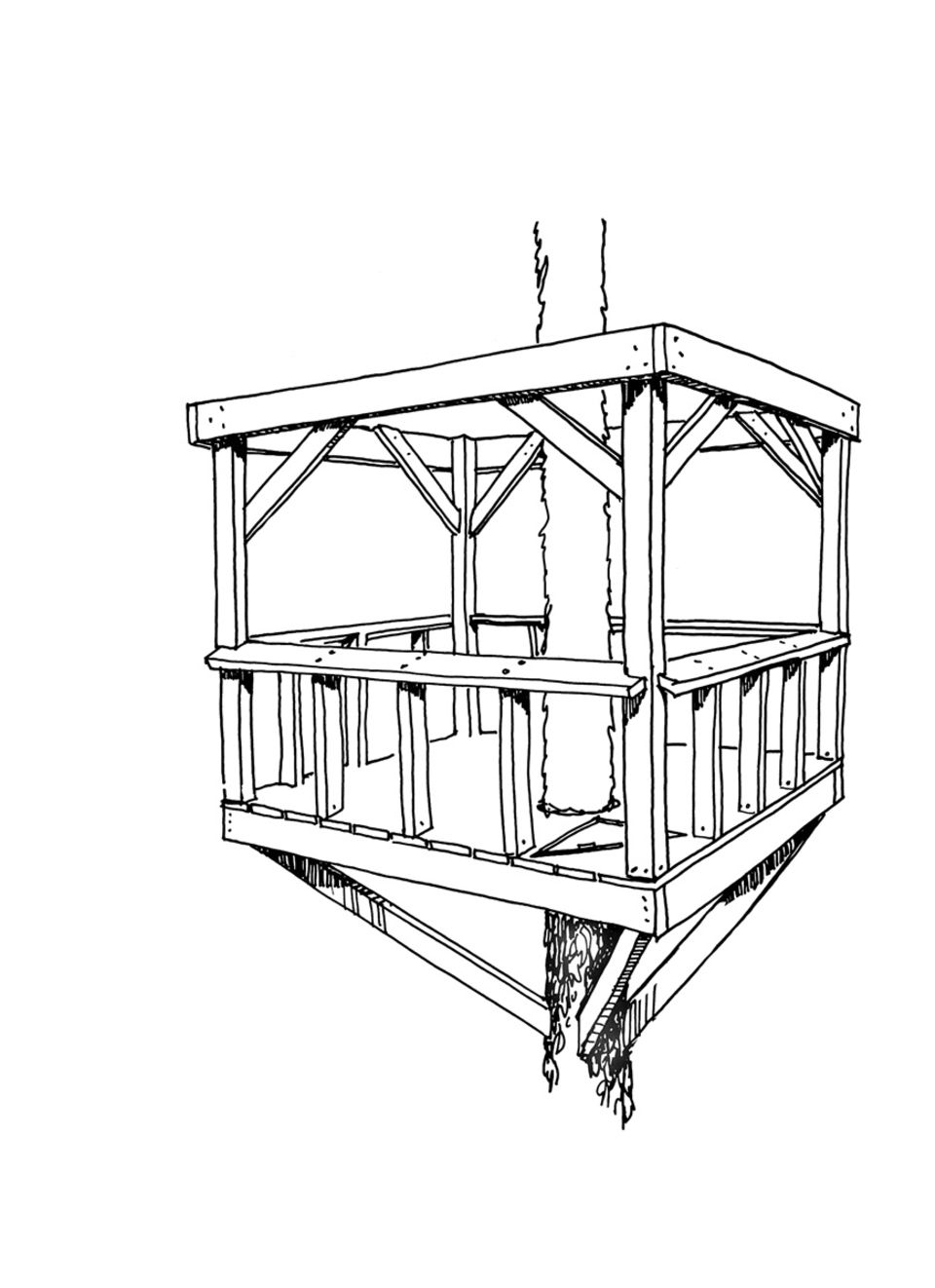 Baumhaus - Bauanleitung