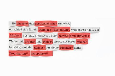 Sprache: Dieser Satz zeigt: Deutsch ist seit eh und je ein Kauderwelsch