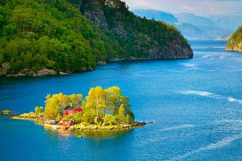 Lovrafjord, Norwegen