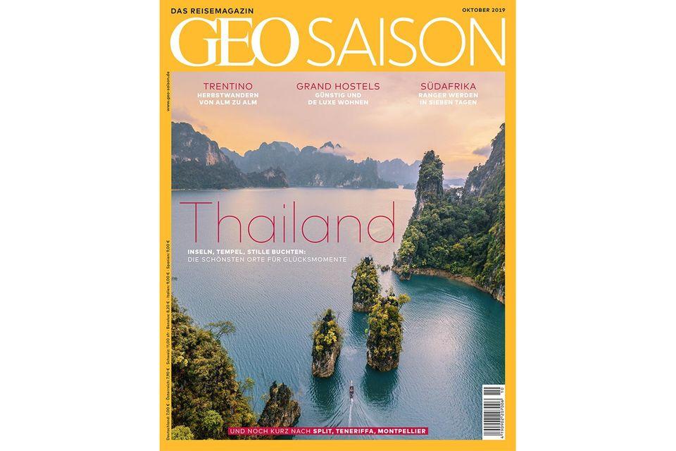 GEO Saison Nr. 10/2019: GEO Saison Nr. 10/2019 - Thailand