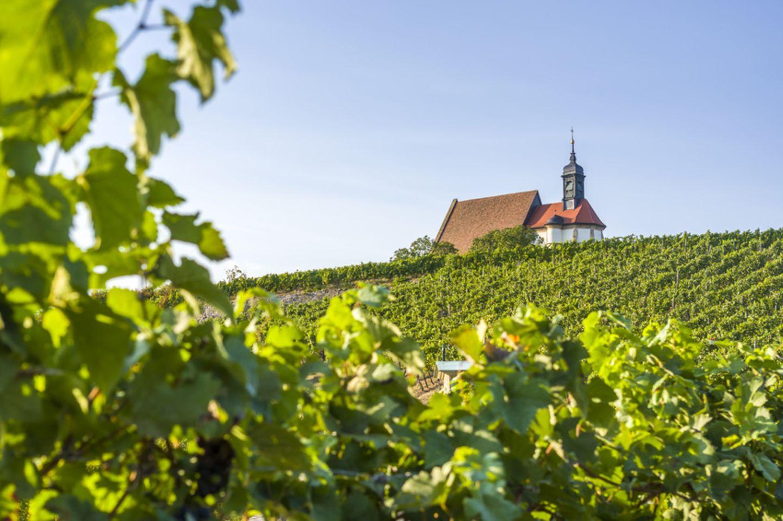 Wallfahrtskirche Maria im Weingarten bei Volkach